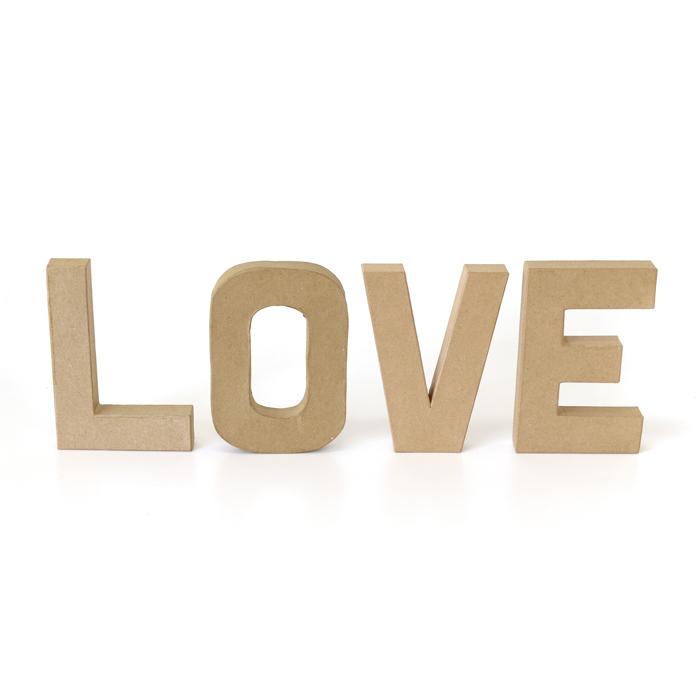 ペーパーオブジェ レター LOVE