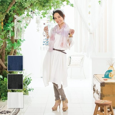 【PORINA】 コットンクレープ ワンピース ★特価★