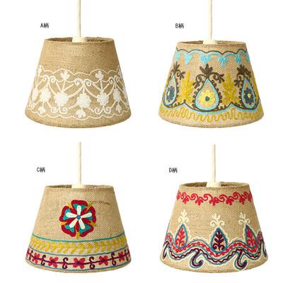 ジュート刺繍ランプ S(シーリングライト35W) ★特価★