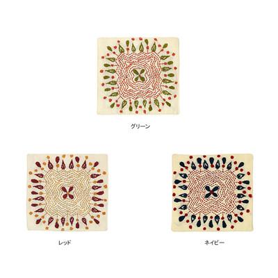 カンタ刺繍コースター 角 ★特価★