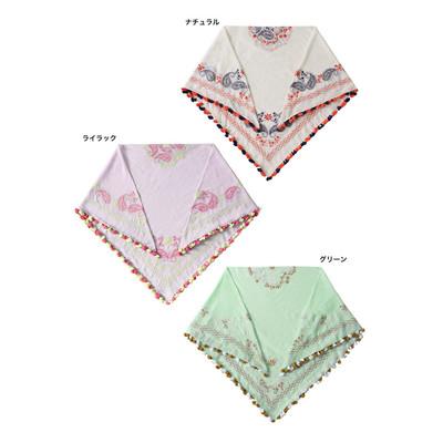 カドーレ刺繍スカーフ ★特価★