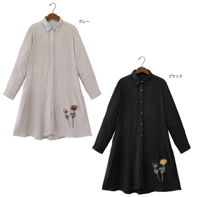 【PORINA】アネモネ シャツドレス ★特価★