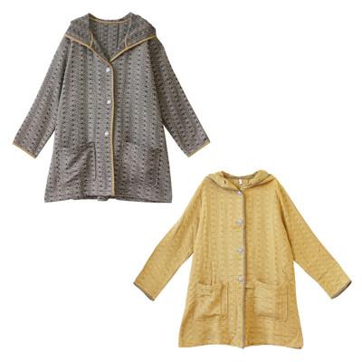 【Shanti】アーストーンジャカード コート ★特価★