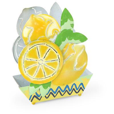 ブリキ蚊遣り レモン