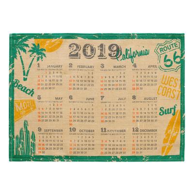 ジュートカレンダー カリフォルニア
