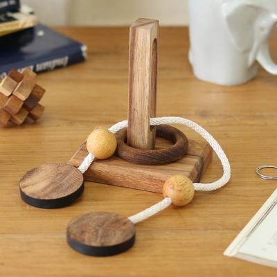 ウッドパズル 3D 知恵の輪