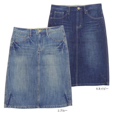 【Shanti】ベーシックデニム スカート ★特価★