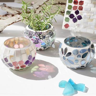 モザイクガラスホルダー ボール