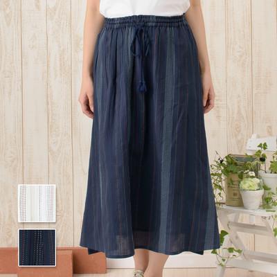【PORINA】スカート マルチストライプ