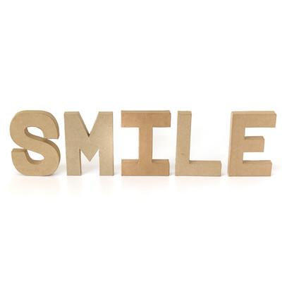 ペーパーオブジェ レター SMILE