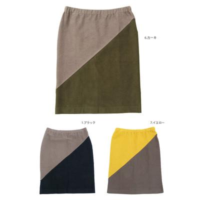 【Shanti】バイカラー スカート ★特価★