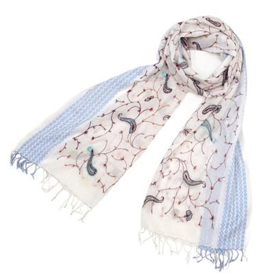 カシミール刺繍ショール