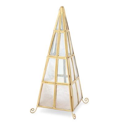 カピスLEDランプ 三角