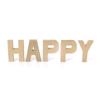 ペーパーオブジェ レター HAPPY