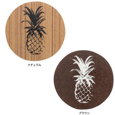 コースター パイナップル