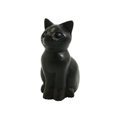 おすわり黒猫 S